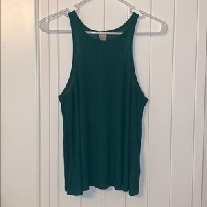 free people ribbed high neck tank size S